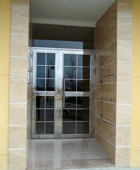 puertas de acero inoxidable en madrid barandillas de
