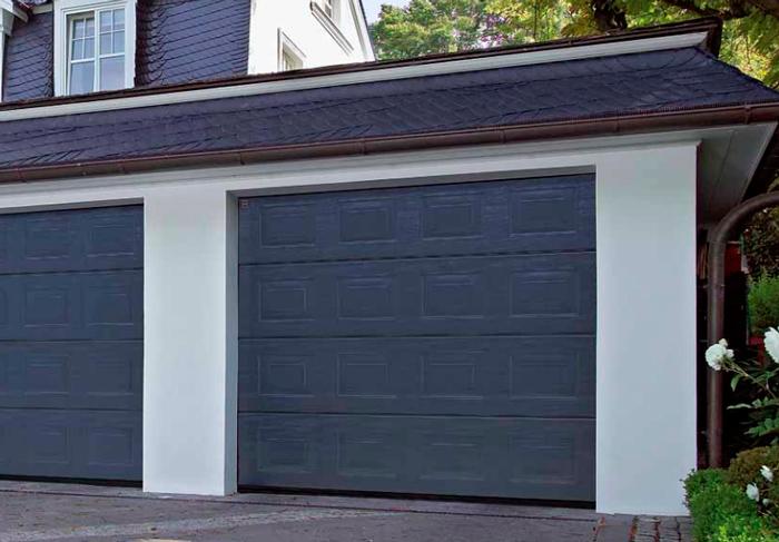 Puertas automaticas en madrid puertas de entrada en - Puertas abatibles garaje ...