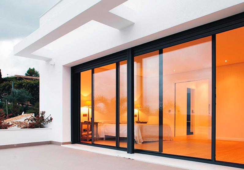 Ventanas y puertas de aluminio cerramientos de porches y - Cerramientos de fachadas ...