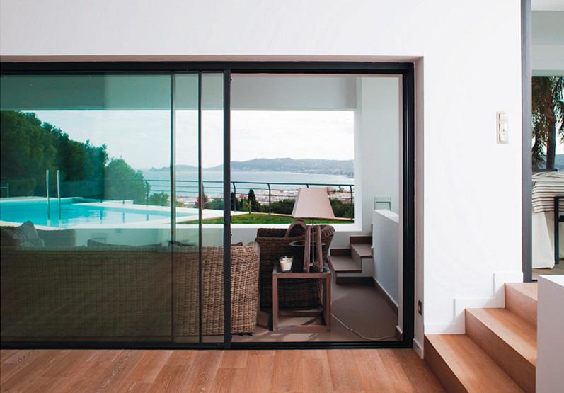 Puertas de terraza de aluminio stunning with puertas de - Puerta terraza aluminio ...